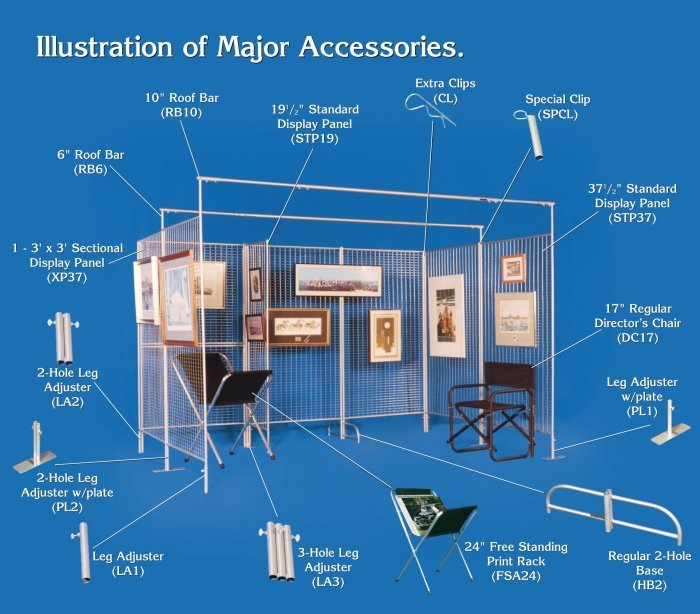 Graphic Display Systems - Accessories